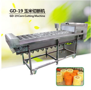 Mc-365 Automatic Carrot Cut-off Machine Maize Cube Cutter Carrot Dicing Machine pictures & photos