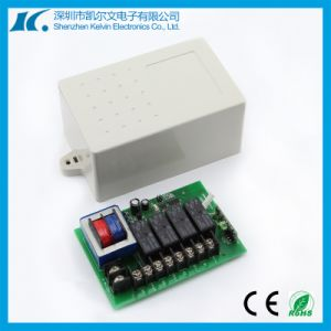 AC220V Multichannel 433MHz RF 4-Way Remote Switch Kl-K411X pictures & photos