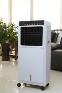 220-240V 50/60Hz Plastic Body Upright Installation Cooling Pad Water Cycling Summer Fan Lfs-100A pictures & photos