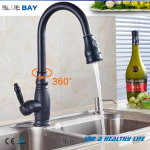 Modern Blackened Kitchen Pull out Spray Faucet pictures & photos