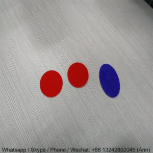 2mm Oval Acrylic Colorful Plate for Decoration pictures & photos
