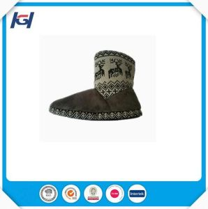 Fashion Winter Warm Ladies Knitted Indoor Boots pictures & photos