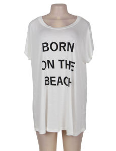 China New Arrivals Soft Top Quality Wholesale Dropshipping White Summer Beach Dress pictures & photos
