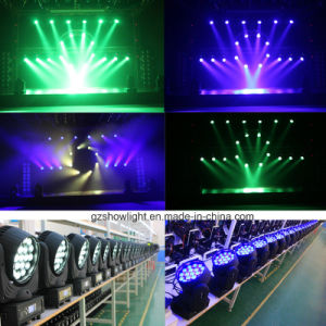 Osram 19*12W 4in1 RGBW LED Zoom Moving Head Beam Light pictures & photos