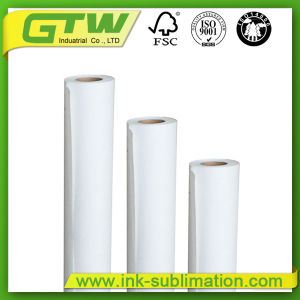 Roll Sublimation Paper 90g/100g for Textile Printing pictures & photos