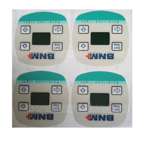 Custom PC Electronic Embossing Membrane Switch Panel pictures & photos
