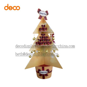 Customized Paper Display Stand Cardboard Display for Christmas Supermaket Promotion pictures & photos
