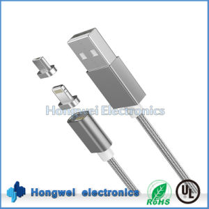 2 in 1 Magnetic USB Cable for iPhone and Android pictures & photos