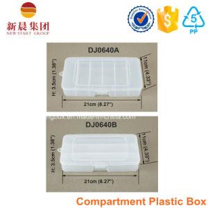 6 Vertical Compartment Plastic Box pictures & photos