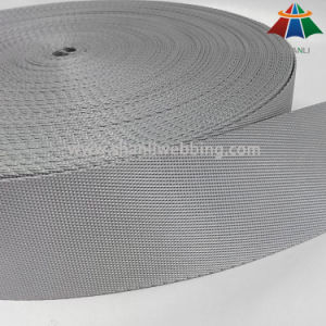5cm Silver Grey Diagonal Weave Nylon Webbing for Backpack of High Quality pictures & photos