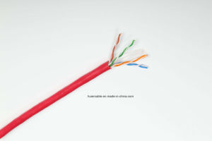 High Quality CAT6 Cat5e LAN Cable (Fluke Pass) pictures & photos