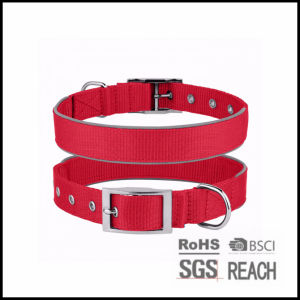 Personalised Strong Durable Nylon Reflective Pet Dog Puppy Collar pictures & photos
