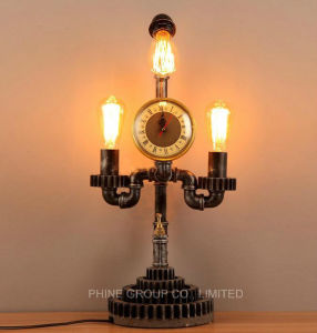 Water Pipe Tope Quality Table Light for Indoor Use pictures & photos