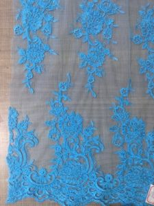 Fashionable Embroidery Lace for Evening Gown pictures & photos