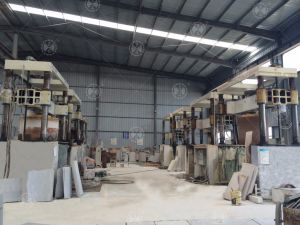 Four Cylinder Column Slab Arc Slab Gantry Stone Cut &Cutting Machine pictures & photos