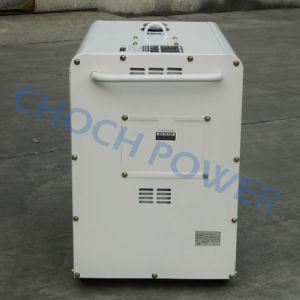 Home 5kVA Soundproof Diesel Electrical Generators with Big Fuel Tank pictures & photos