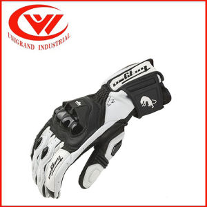 Factory Sales Explosion, Motorcycle Gloves, White Motorcycle Racing, Leather Long Ride, Anti Throwing Gloves pictures & photos