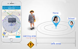 GPS Anti-Lost Tracker for Children, Pets and Luggage(Silver) pictures & photos