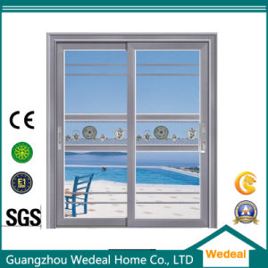 Engineered Hotel/Room Aluminum Glass Sliding Door pictures & photos
