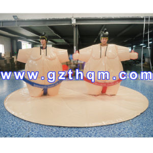 High Quality Inflatable Sports Games Sumo Wrestling Suits/Inflatable Game Sumo Mat pictures & photos