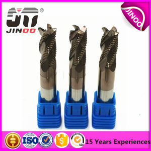 4 Flutes Altin Black Coating Flat Tungsten Carbide Cobra Carbide End Mills pictures & photos
