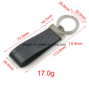 Promotional High Quality Genuine Leather Key Chain pictures & photos
