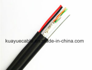 LAN Cable Utpcat5e+Power Cable+Steel/Computer Cable/ Data Cable/ Communication Cable/ Connector/ Audio Cable/Hanli Cable pictures & photos