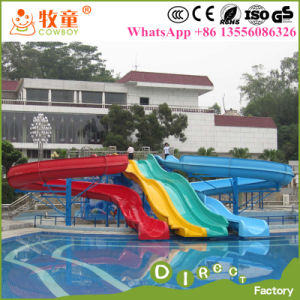 Hot and Cheap Selling Amusement Park Used Fiberglass Water Slide for Sale pictures & photos