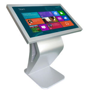 Factory Supply 42-Inch Floor Stand Touchscreen Kiosk pictures & photos