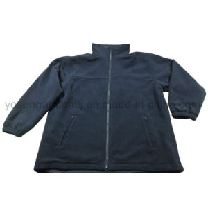Men′s Woven Winter Waterproof Reversable Rain Coat Jacket (IC25) pictures & photos