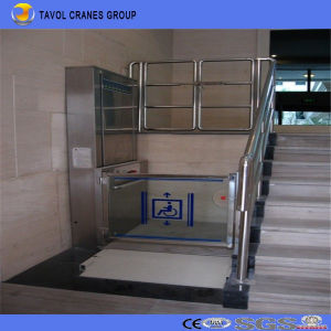 Hydraulic Electric Homes Wheelchair Lift Elevators Platform for Disabled pictures & photos