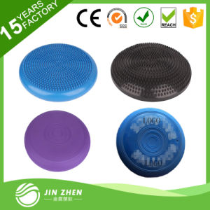 No6-2 Anti-Burst Yoga Ball Gym Exercise Fitness Ball with Resistance Tube pictures & photos