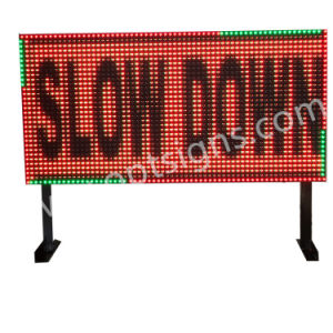 Full Color Variable Message Traffic LED Road Sign Boards pictures & photos