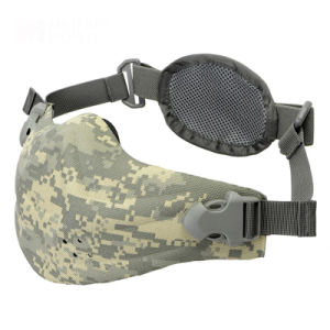 Tactical Military Outdoor Motorcycle Cycling Half Face Airsoft Mask pictures & photos