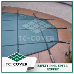 Plastic Winter Safety Pool Cover pictures & photos