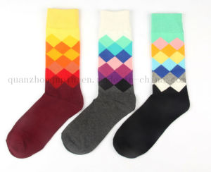 OEM Hot Sale Colorful Cotton Soft Socks for Promotion pictures & photos