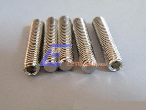 DIN913-Hexagon Socket Set Screws with Flat Point pictures & photos