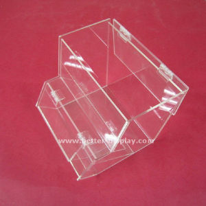 Plexiglass Supermarket Display Box Acrylic Food Box with Spoon Holder (BTR-K4004) pictures & photos