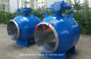 Fully Welded Forged Steel Ball Valve pictures & photos