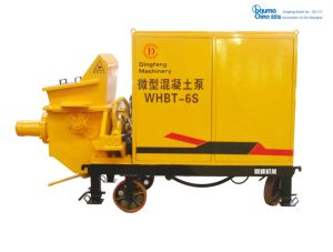 Whbt6s/5s Electric Stationary / Portable Small Cement Delivery Pump