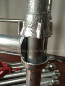 Cuplock Scaffolding Top and Bottom Cup Wedge Leaders Scaffolding Accessories pictures & photos