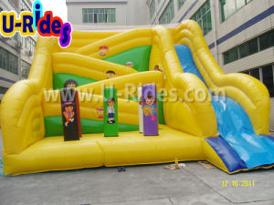 Funny Yellow Inflatable Slide for Kids pictures & photos