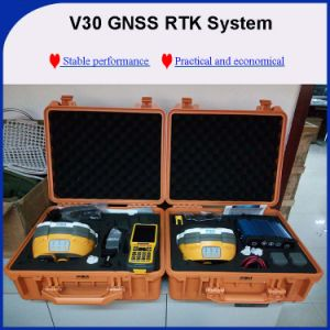 Hi-Target V30 Gnss Receiver, Rechargeable Battery Dual Frequency Rtk GPS pictures & photos