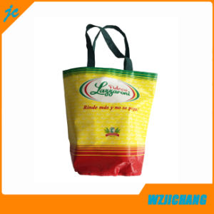 Round Bottom BOPP Laminated PP Woven Tote Bag pictures & photos