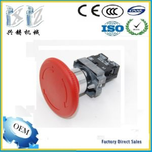 Xb2-BS642 60 mm Mushroom Head 1 Nc 22mm Turn Release Emergency Stop Push Button pictures & photos