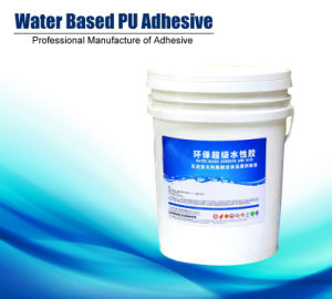 Environmental Water-Based PU Glue Hn-820W pictures & photos