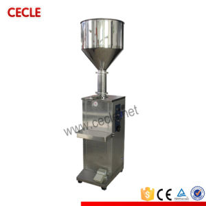 Vertical Automatic Electric Small Liquid Coconut Oil Filling Machine with Ce