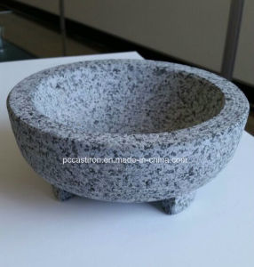 Granite Stone Molcajete Bowl Factory From China pictures & photos