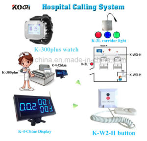 Wireless Patient Call Bell System for Hospital Management pictures & photos