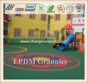 EPDM Flooring for Colorful Kids Playgrounds pictures & photos